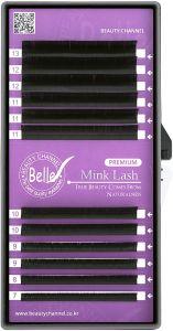 Belle Premium Mink, Volume Eyelash Extensions, M 0.07
