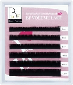 Beauty Farmers, Volume Eyelash Extensions, C 0.07-Mix 7-12 mm