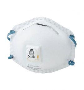 3M Disposable Respirator, FFP2, Valved, 8322
