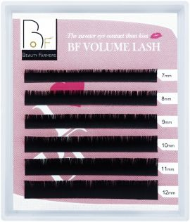 Beauty Farmers, Volume Eyelash Extensions, C 0.07-Mix 7-12 mm